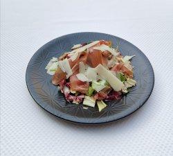Salată cu prosciutto si parmezan