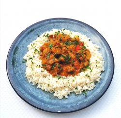 Vegetal thay curry