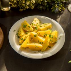 Cartofi natur cu pătrunjel image