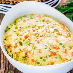 Salată boeuf cu piept de pui image