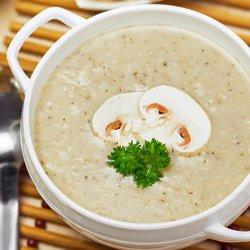 Supă cremă de ciuperci image