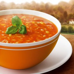 Supă de roșii cu orez image
