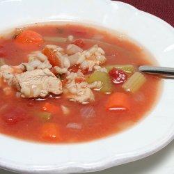 Supă de roșii și curcan image