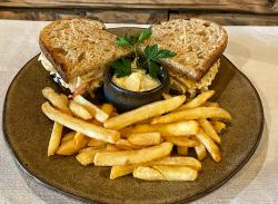 Club sandwich menu image