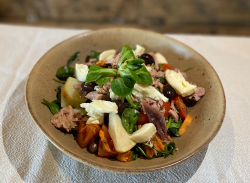 Mediterranean salad image