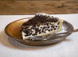 Oreo tart slice image