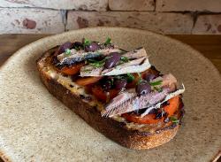 Sardine tartine image