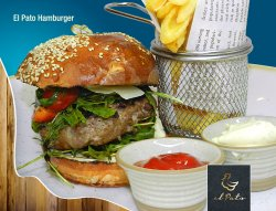 El Pato hamburger image