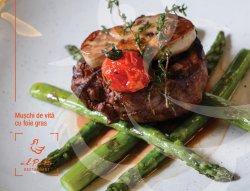 Mușchi de vită cu foie gras image
