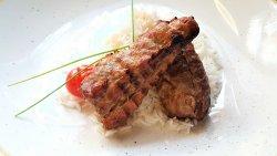 Mușchiuleț de porc la grătar image