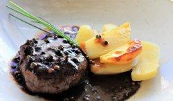 Pepper steak image