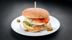 Carnitas Sandwich / Sandwich de Porc (Pulled Pork) image