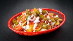 Vegetarian Nachos / Nachos Vegetarian image
