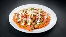 Pork Burrito Bowl / Burrito de Porc la Farfurie image
