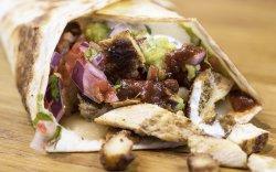 Vegetarian Quesadilla / Quesadilla Vegetariană image