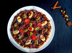 Pizza cu Nutella și fructe image