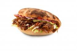 Kebab pui și cartofi prăjiți image