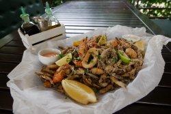 Crispy Sea Food Platter image