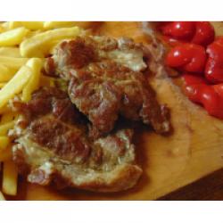 Ceafă  porc la grătar image