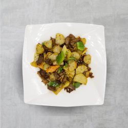 Miel Ganbian cu cartofi picanți image