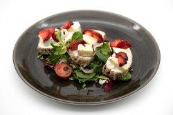 Strawberry & brie crostini image