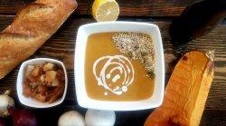 Supă cremă de dovleac cu cardamon – vegetarian/post  image