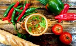 Supă argentiniană de vită cu găluște  image