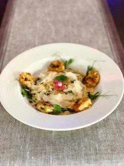 Risotto cu creveți și parmesan image