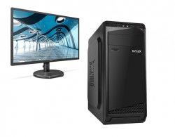Pachet sistem PC Tower Pro477, Procesor Intel® Core™ i7 4770, 16GB RAM, Capacitate stocare 240SSD, Noir, Monitor 24 image