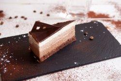 Tort triochocolate