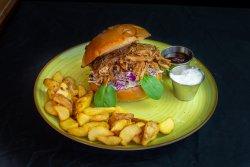 Pulled Pork Burger (fara garnitura) image