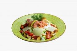 Salată Caesar cu somon fume image