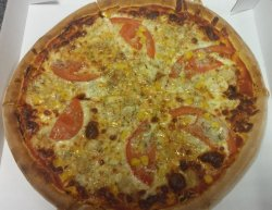 Pizza Pollo con Gorgonzola 1+1