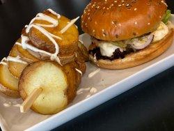 Burger Halloumi (vegetarian)