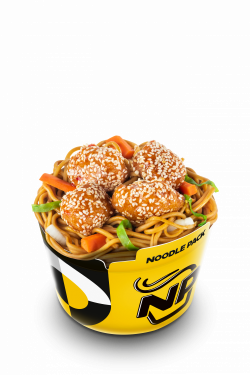 Noodle Pack Orange Chicken