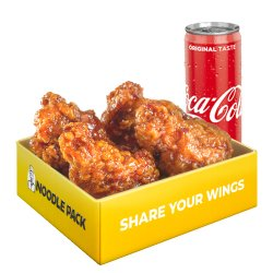 Teriyaki Wings + suc Coca-Cola inclus