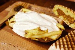 Cartofi + sos brânză  image