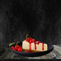 Cheesecake cu topping vișine