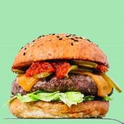 Marty Burgers: Cheeseburger