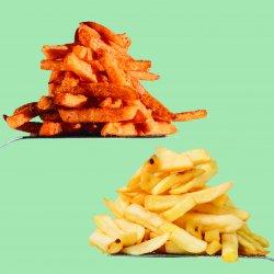 Marty Burgers: Sweet Potatoes