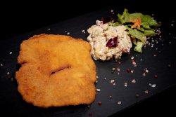 Schnitzel on Wheels: Schnitzel de porc