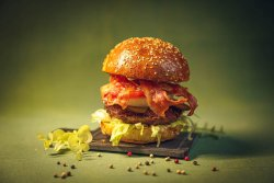 Crrrispy bacon Burger (Only the crispiest) image