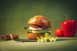 Grilled Talagani Burger (ceva grecesc, brânză mai exact, de mare fitză și gust) image