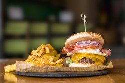 Egg Bacon Cheese Burger image