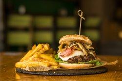 Tartufo &  Funghi Burger image