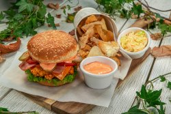 Meniu burger caesar image