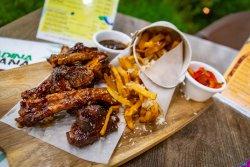 Fried ribs image