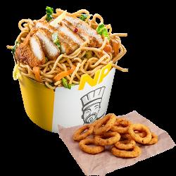 Noodle Pack Șnițel cu Snack Onion Rings  image