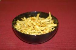 Cartofi stir fry cu susan