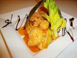 Creveti Gong Bao cu legume thai